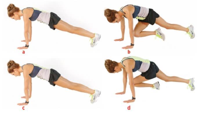 Bài tập leo núi giúp làm giảm mỡ bụng