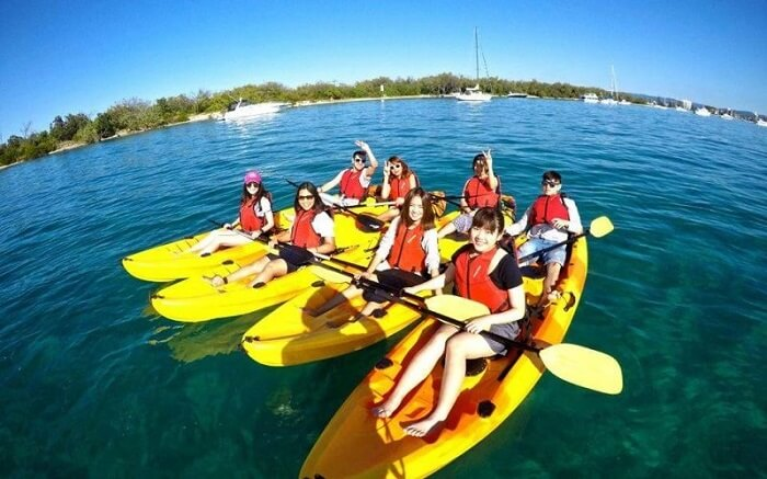 Bộ môn chèo thuyền Kayak