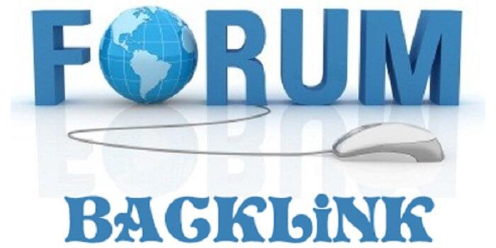để lại chữ ký có chứa backlink trỏ về site chính trên các diễn đàn